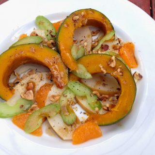Kabocha Squash Salad with Hazelnuts