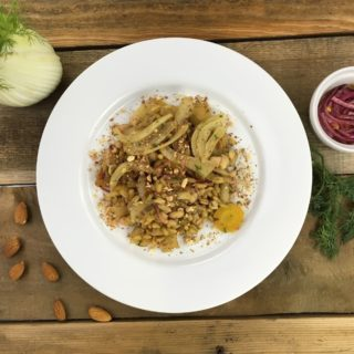 Wheat Berries White Bean and Winter Vegetables