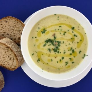 Vichyssoise Potato Leek Soup
