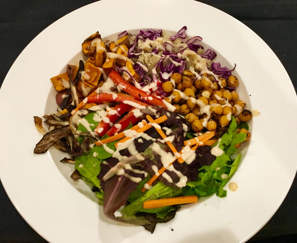 Buddha Bowl with Lemon Tahini Dressing - Chef in Medicine