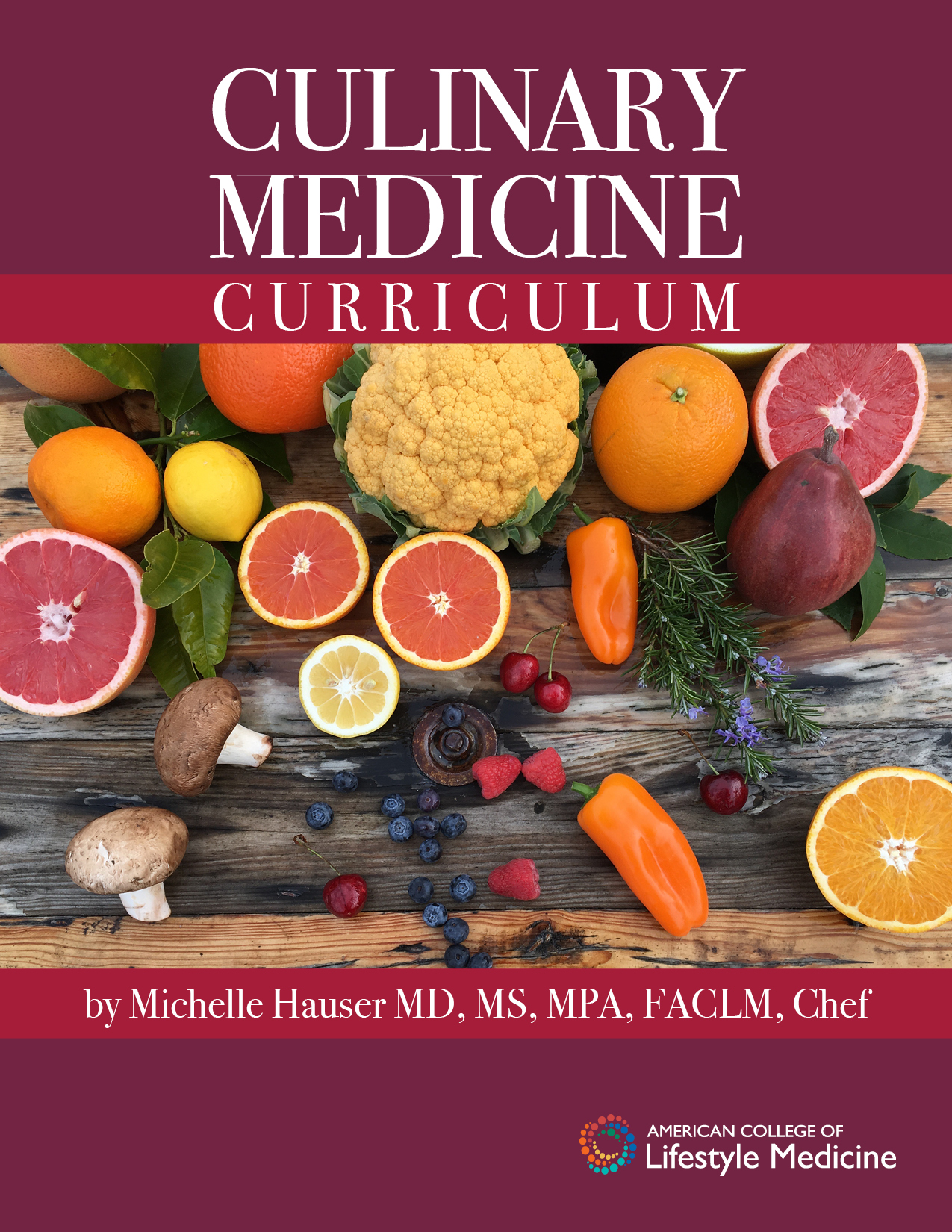 Culinary Medicine Curriculum Cover
